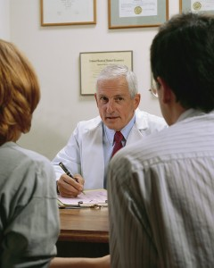 Doctor : Patient meeting